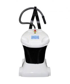 cryofan cf-05 by Cryomed blowing cold air into cryosauna during a cryotherapy session